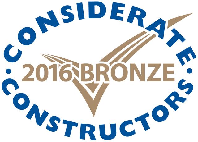 Considerate Constructors Bronze Award 2016