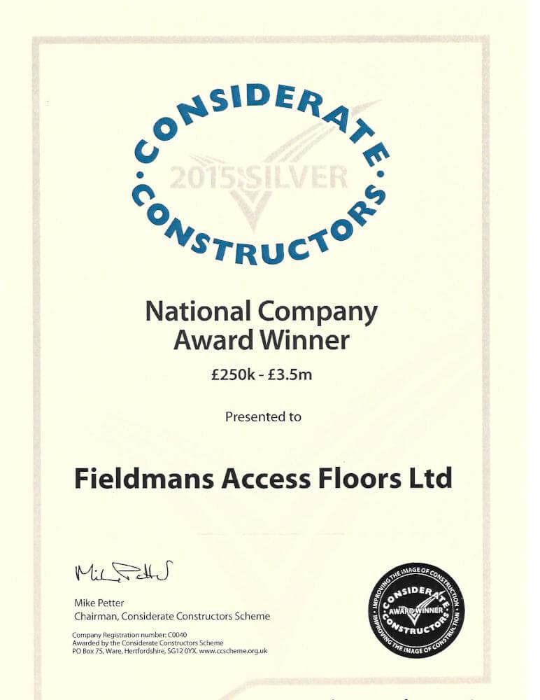 Fieldmans Access Floors Kent