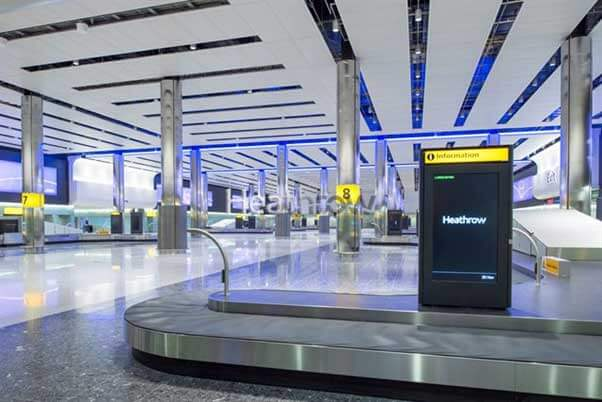 Heathrow Airport Terminal 2 Access Flooring Case Study