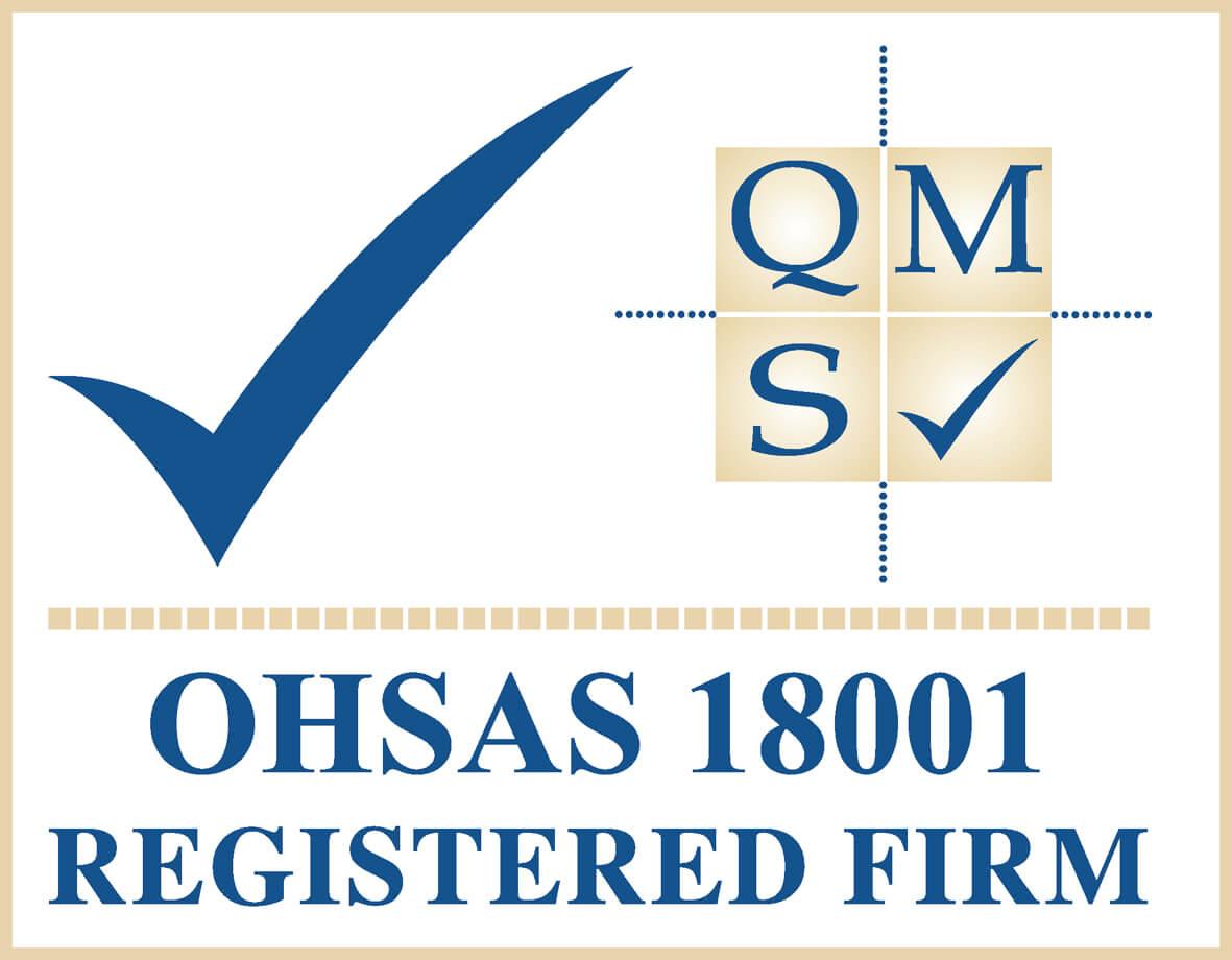 4 Q41 QMS OHSAS 18001 logo