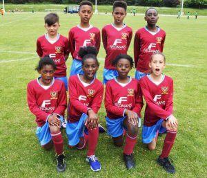 ROMAN ROAD Football Team