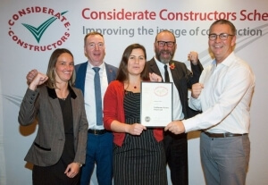 2017 - Gold Considerate Constructors National Company Award Winner