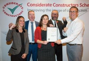 2017 - Gold Considerate Constructors National Company Award Winner