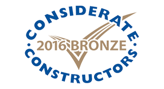 2016 - Bronze National Company Award with the Considerate Constructors Scheme