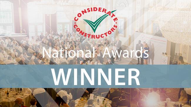 2019 – Silver Considerate Constructors National Company Award